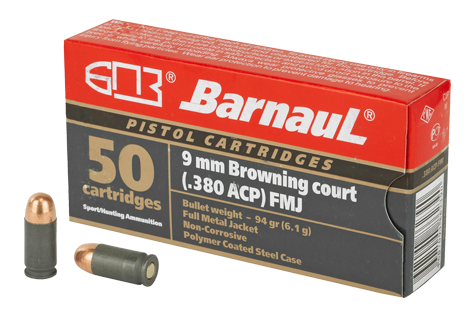380 auto poly coated ammunition