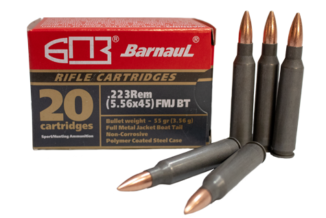 223 rem poly coated ammunition